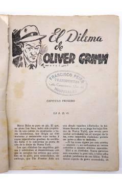 Muestra 2 de EL ENCAPUCHADO 36. EL DILEMA DE GRIMM (G. L. Hipkiss) Cliper 1947